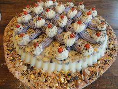 Flan 28 cm. Bird Cakes, Flan, Acai Bowl, Breakfast, Pudding, Acai Berry Bowl, Morning Coffee, Creme Brulee, Morning Breakfast