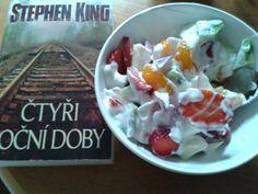 Stephen King & little snack ♥