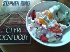 Stephen King & little snack ♥
