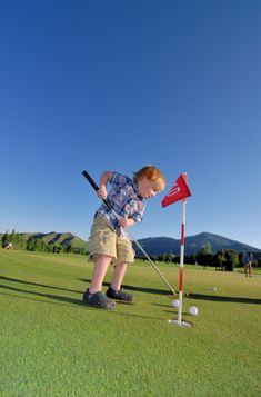 Golf Season for Tots | 360 Sun Valley for Kids and Families