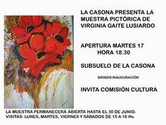 La Casona del Parque Posadas: La pintura se apoderó del subsuelo de la Casona
