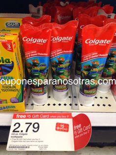 Target: Colgate Pasta de Dientes para Niños a sólo $0.29!