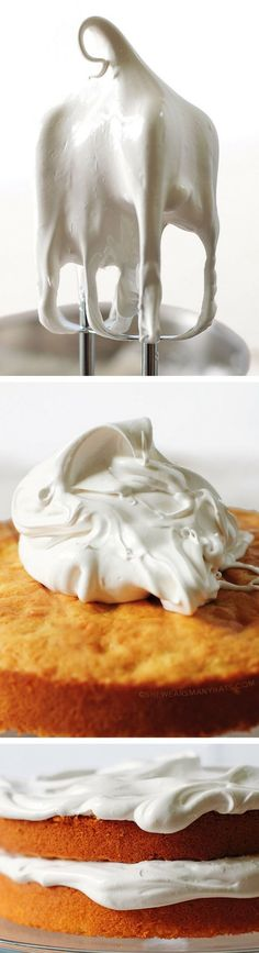 It's like a cloud! Quick and Easy Fluffy 7-Minute Frosting Recipe shewearsmanyhats.com