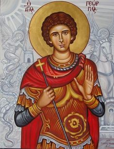 Orthodox Icons, All Icon, Saint George, Religious Art, Byzantine, Saints, Religion, Spirituality, Angel