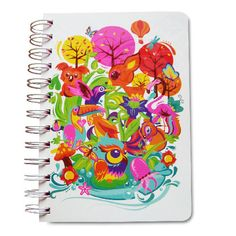 cuaderno forest
