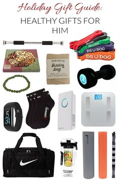 Wonder what healthy gifts to give him? Here's a list of healthy gift ideas for men
