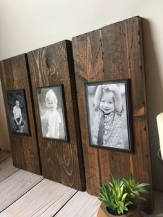 Rustic Wood Frame - Picture Frame Set - Rustic Picture Frame Set - Wood Picture Frame - Farmhouse Decor - Rustic Home Decor - Wall Hanging Rustic Wood Frame Picture Frame Set Rustic Picture Frame Rustic Picture Frames, Picture Frame Sets, Picture On Wood, Diy Picture Frames On The Wall, Rustic Frames, Picture Frame Decor, Hanging Picture Frames, Picture Photo, Homemade Picture Frames