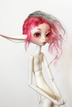 Fantasy | Whimsical | Strange | Mythical | Creative | Creatures | Dolls | Sculptures | Beatrice | by customlovers