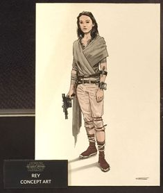 star wars rey Art | ... Han Passes on to Rey in 'The Force Awakens' | The Star Wars Underworld