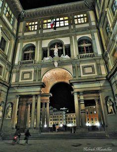 The Uffizi in Florence