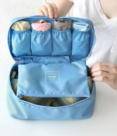 Bra & Underwear Travel Tote - genius!