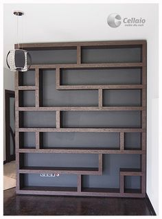 Bookshelves In Bedroom, Bookcase Wall, Home Office Design, House Design, Muebles Living, Basement Inspiration, Creation Deco, Bathroom Design Small, Deco Design