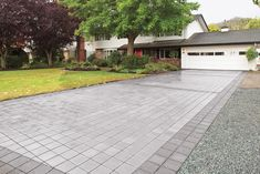 More environmentally friendly than asphalt or concrete, these pavers minimize runoff that can pollute waterways