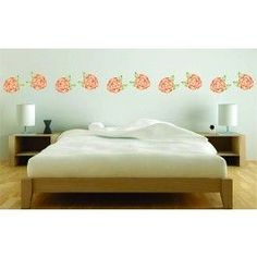 Create a beautiful border with Stencils for Walls' Rose Stencil. Stencilling is a quick, easy and cost effective way to accessorize any flat surface of your choice. We provide high quality stencils in various creative designs.