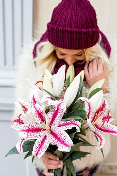 Our festive Candy Cane Lilies will have you celebrating the sweetness of the season! Our striking Christmas flower bouquet features white blooms accented with red stripes to give a look of traditional Christmas candy canes. Christmas Flowers, Christmas Candy, White Christmas, Holiday, Christmas Floral Arrangements, Flower Arrangements, Candy Canes, Flower Centerpieces, Red Stripes