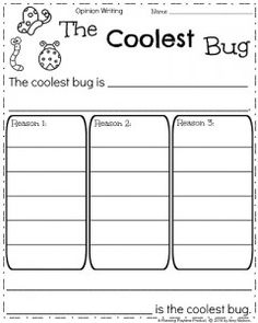 Teachers can use this opinion writing prompt to discover students likes. This writing prompt can be used for spring time or incorporated with science. Narrative Writing Prompts, Writing Prompts For Kids, Kids Writing, Teaching Writing, Writing Activities, Teaching Ideas, Kindergarten Writing Prompts, Writing Rubrics, Paragraph Writing