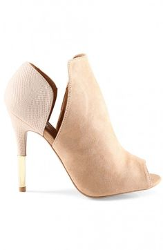 Blush Gold Dipped Booties ❤︎