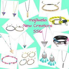 #majãwelia #SS16 #handcraftedjewelry #newcreations #summer2016 ☀️🌾⛵️🐠🍍☮
