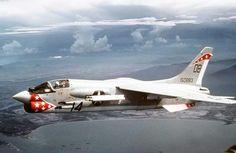 F-8U Crusader over Vietnam 1968