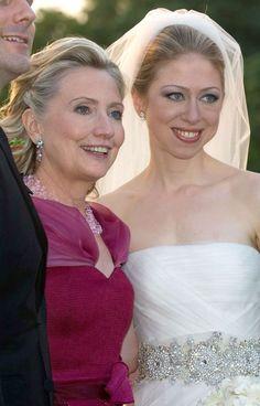 Chelsea Clinton Wedding Hair