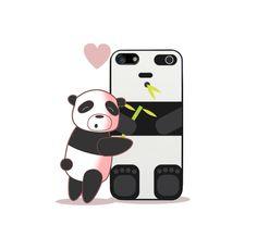 Os presento la nueva funda para telefono iphone que ya se puede adquirir  en la tienda de los monigotes. http://www.latostadora.com/losmonigotes #Iphone #Panda #IphoneCover #IphoneCarcase #LosMonigotes