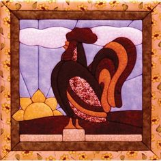 Quilt Magic 12-Inch by 12-Inch Rooster Kit by Quilt Magic, http://www.amazon.com/dp/B004C6LR64/ref=cm_sw_r_pi_dp_sbLHrb0RGX2S6