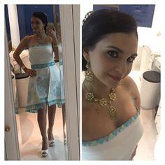 Hermosisima nuestra modelo @mariannasalz en la boda de Kaiser e Gilda Ponce-Cardenas; gracias por confiar en nosotros