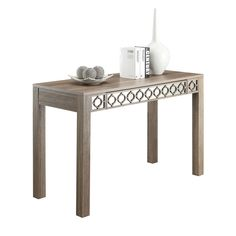 Helena Driftwood Colored Wood Writing Desk | Overstock.com Shopping - Great Deals on Office Star Products Desks