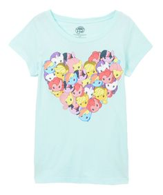 Look what I found on #zulily! Frost Mint My Little Pony Heart Tee by Jerry Leigh #zulilyfinds