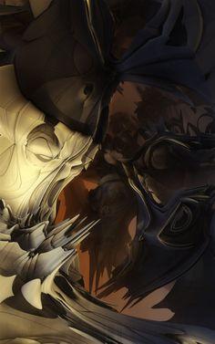 #Fractal #Art by SnowblindFrog, #3D