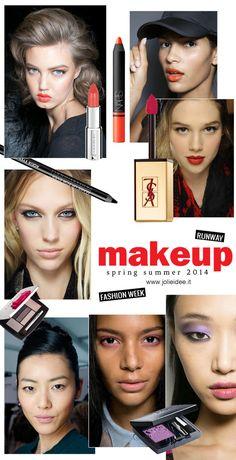 Make up primavera estate 2014 - Fashion Week Trend e Must have