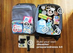 Disaster preparedness kit: not a bad idea as hurricane season approaches! | from DIY Network