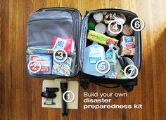 DIY disaster prep kit