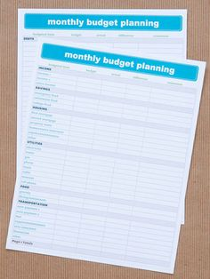 We Heart Organizing: Get Organized with Free Charts at BHG