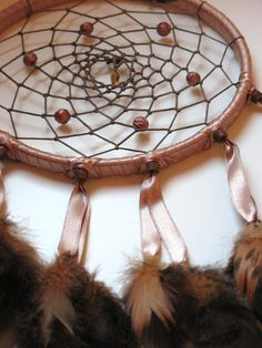 6 Brown dream Catcher by CatchMyDreams on Etsy, $22.00