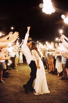a sparkler exit is even better on the 4th of July