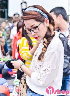 Kiểu tóc của hotgirl Chi Pu đẹp cuốn hút xinh xắn trong nắng hè 2016 phần 29
