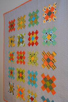 Granny Square quilt | Sew French