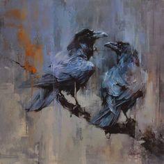 Resultado de imagem para corvos pinturas