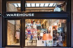 Warehouse flagship store by Brown Studio, London