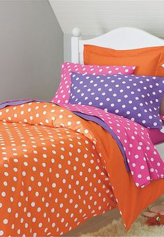 Bright Dots Bedding-Colors + turquoise = G's room