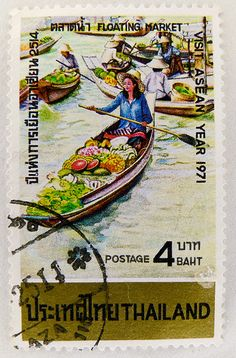 stamp Thailand 4 baht Briefmarke timbre Thailandia bollo franco postage selo sellos Thai stamp special issue stamp, commemorative issue, émission commémorative Tàiguó yóupiào почто́вая ма́рка Таила́нд