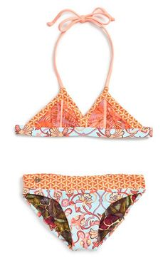 Maaji 'Edith's Songs' Two-Piece Reversible Swimsuit (Big Girls)