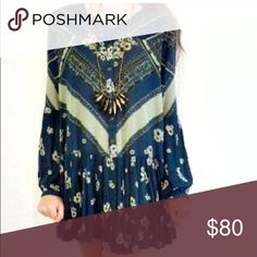 Free People Swing Tunic Bohemian Dress Worn once-excellent condition. Free People Dresses