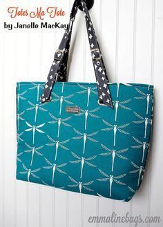 The Totes Ma Tote Bag PDF Sewing Pattern  Large by EmmalineBags, $8.50