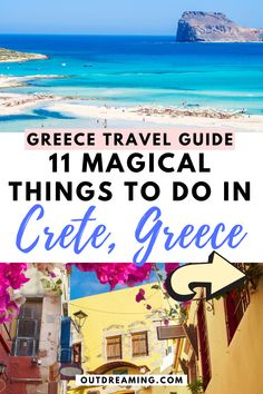There is so much to explore on the large island of Crete - use this in-depth guide to help you pick the top things to do in Crete for a mesmerizing trip! Greece Honeymoon, Greece Vacation, Greece Travel, Greece Trip, Cool Places To Visit, Places To Travel, Santorini, Bucket List Europe, Crete Greece