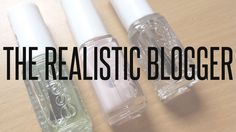 THE BEAUTY TYPE - beauty & lifestyle blog: THE REALISTIC BLOGGER