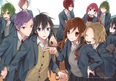 Anime Eyes, Anime Manga, Otaku, Drawing Body Poses, Horimiya, Anime Best Friends, Manga Games, I Love Anime, Haikyuu Anime