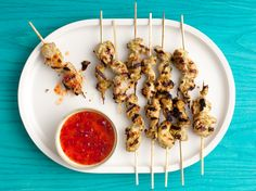 Asian Chicken Skewers from FoodNetwork.com