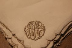 Beautiful monogram - such lovely work and elegant design